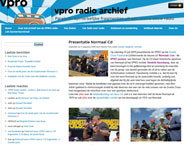 Website VPRO (2009)