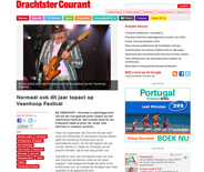 Website website Drachtster Courant